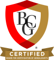 board certified genealogist
